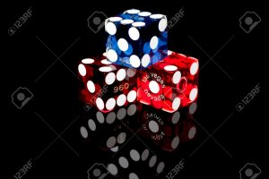 8385448-colorful-las-vegas-gaming-dice-on-a-black-background-stock-photo